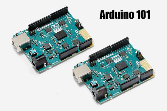 Arduino 101 y Genuino 101