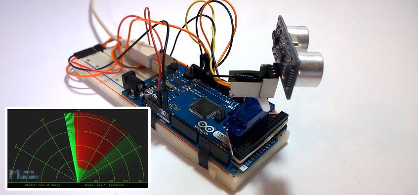 Cómo hacer un radar con Arduino y Processing