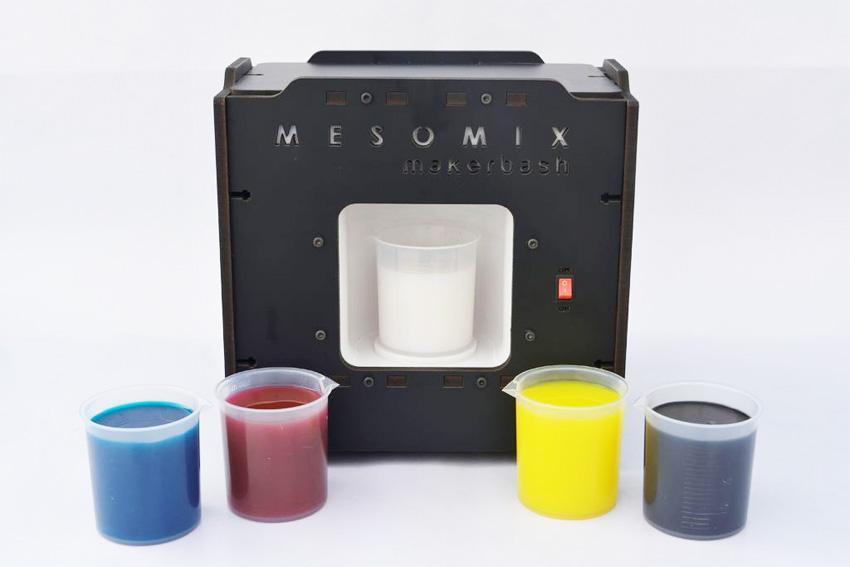 MESOMIX es una mezcladora casera de pintura con Arduino