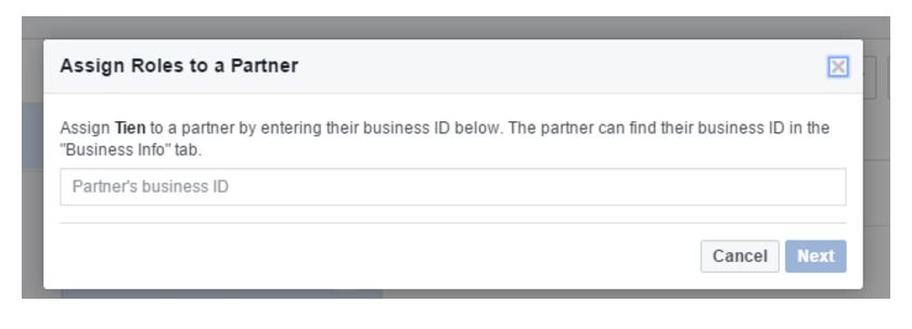 How To Locate Your Facebook Advertiser Account ID & Assign