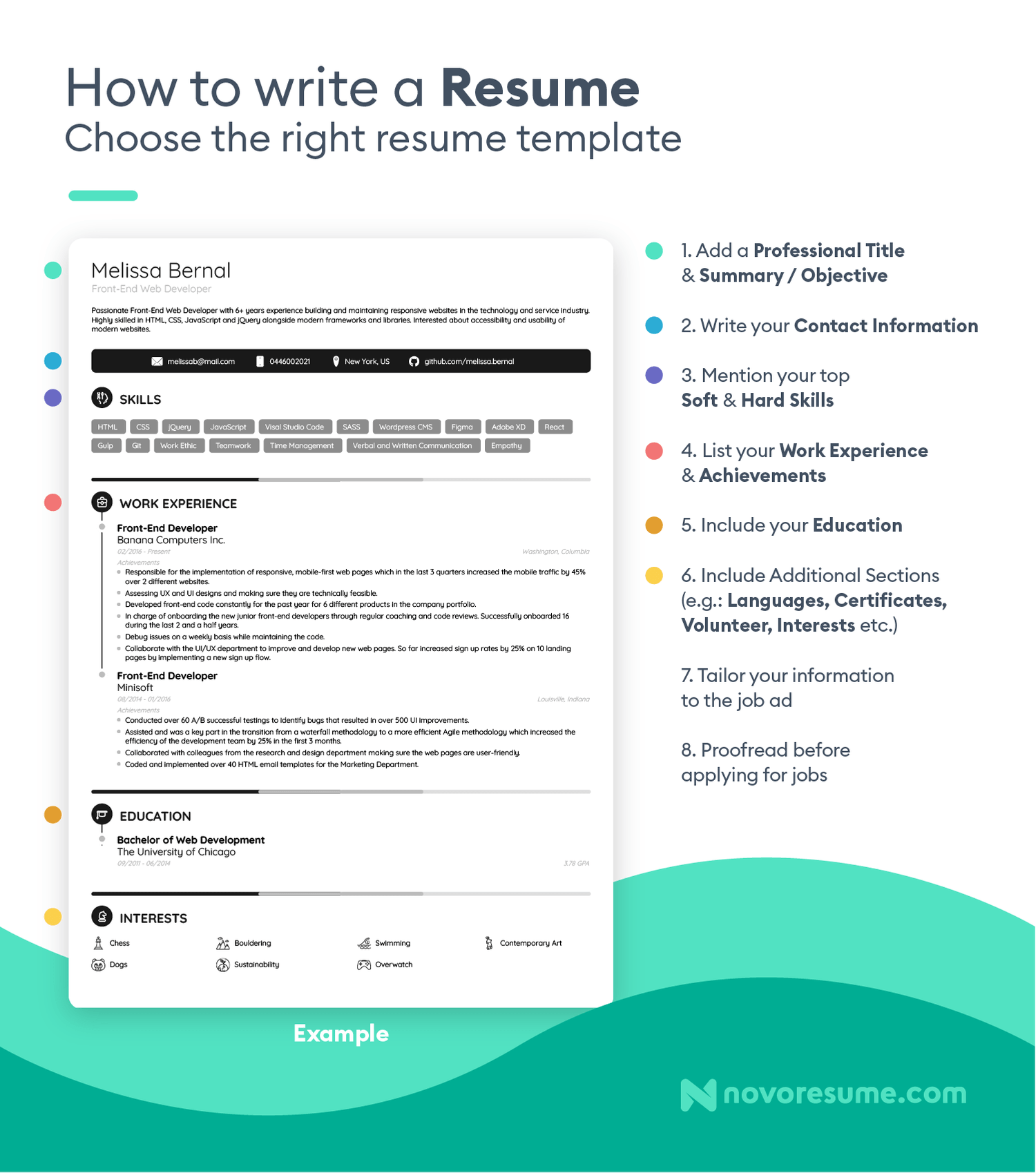 Ideally, your resume will tell a compelling story about your abilities and achievements—and help you to nab a hiring manager's attention. How To Write A Resume In 2021 Beginner S Guide