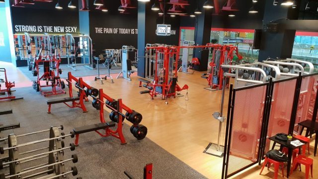 Interior Of Gymmboxx Jurong East