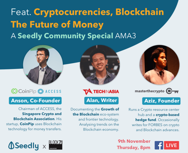 Seedly AMA3 FB Live