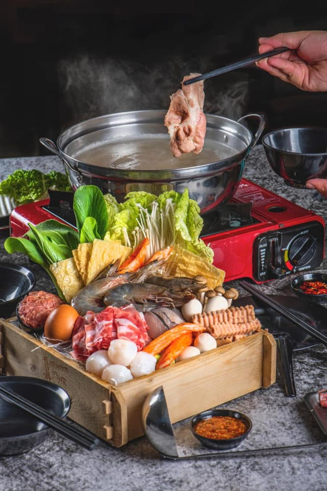 One Pot Steamboat