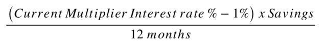 Cashback Hack equation