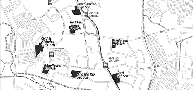 Secondary Schools in Ang Mo Kio