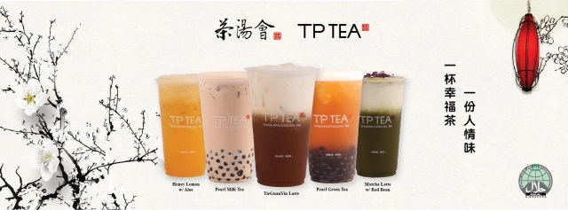 TP tea Singapore Bubble Tea