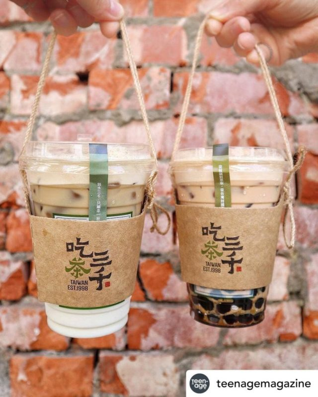 Chicha San Chen Bubble Tea Singapore