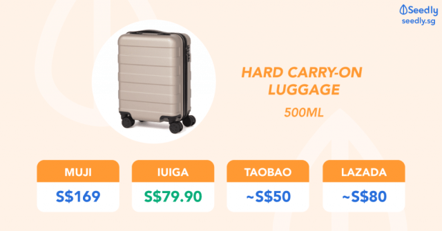 19L Carry-on Luggage Bags