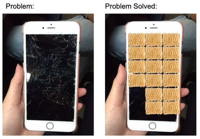 Fixing My Phone With Ramen Noodles