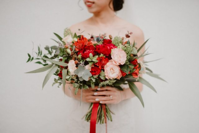 Gathered And Styled Wedding Florist