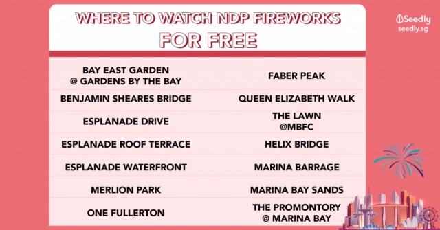 where to watch fireworks for free ndp 2019