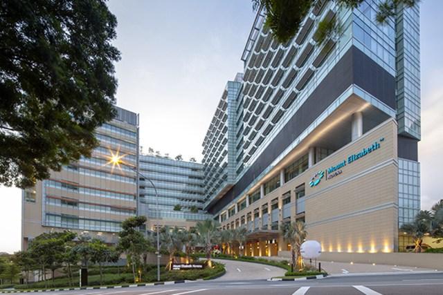 Mount Elizabeth Hospital Facade