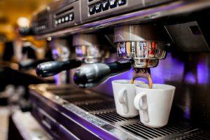 Espresso Machine with Shot Flowing