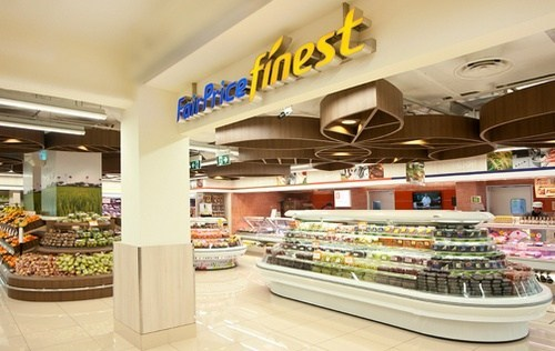 Entrance of FairPrice Finest