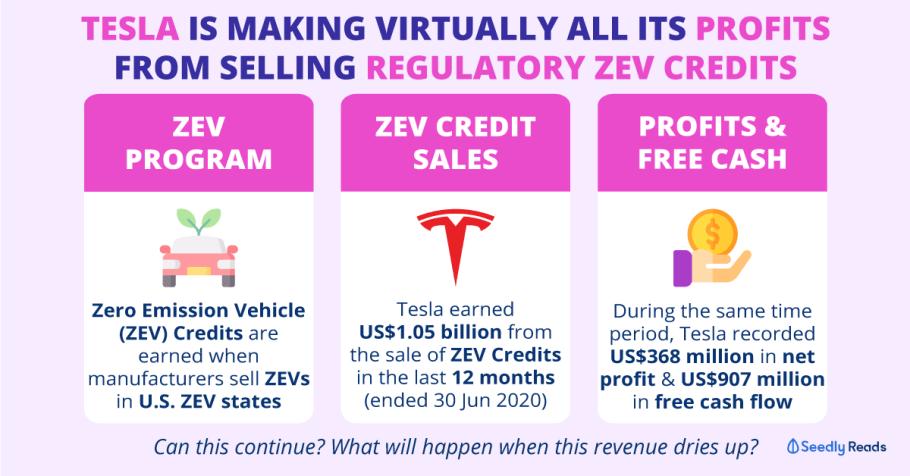 How Does Tesla REALLY Make Its Profit?