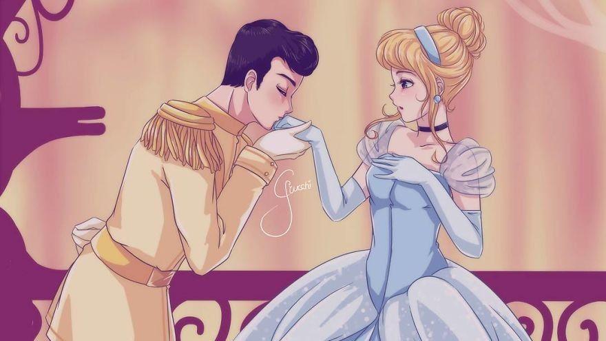10 Gaya Gambar Animasi Disney Yang Diubah Jadi Gaya Anime Ala Jep