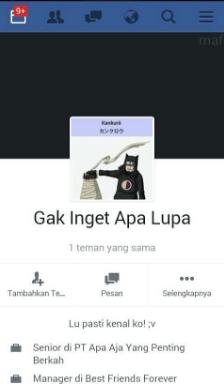 Kumpulan Nama Fb Gokil : kumpulan, gokil, Facebook, Kocaknya, Bikin, Ketawa, Sekaligus