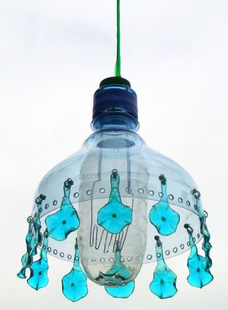 Lampu Hias Dari Botol Aqua : lampu, botol, Lampu, Botol, Bekas, Tampak, Mewah,, Inspir