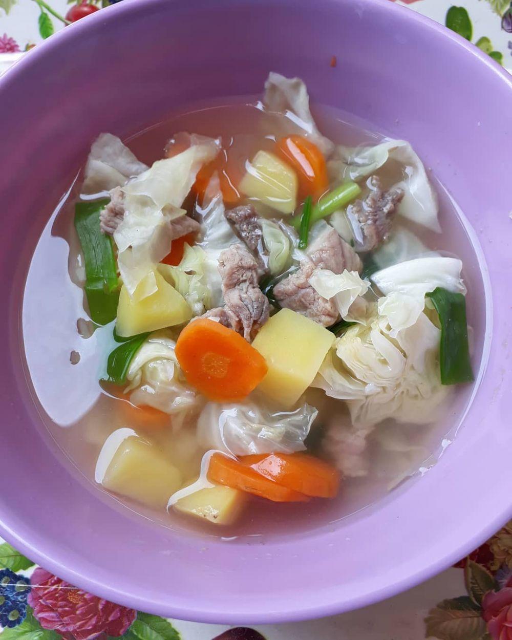 Resep Sayur Sop Yang Enak : resep, sayur, Resep, Sederhana,, Menggugah, Selera