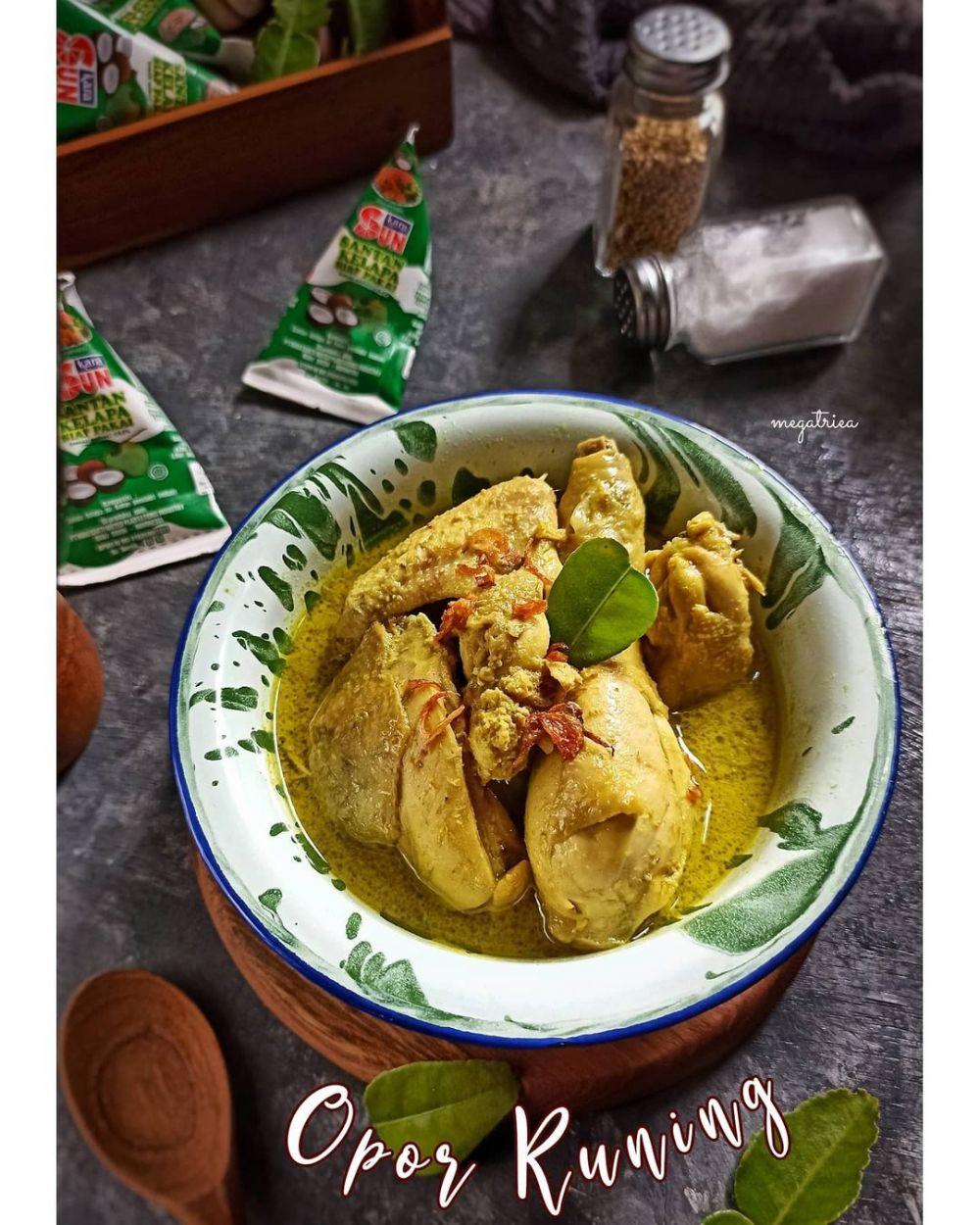 Resep Ayam Santan : resep, santan, Resep, Masak, Santan, Rumahan,, Enak,, Bikin, Nagih