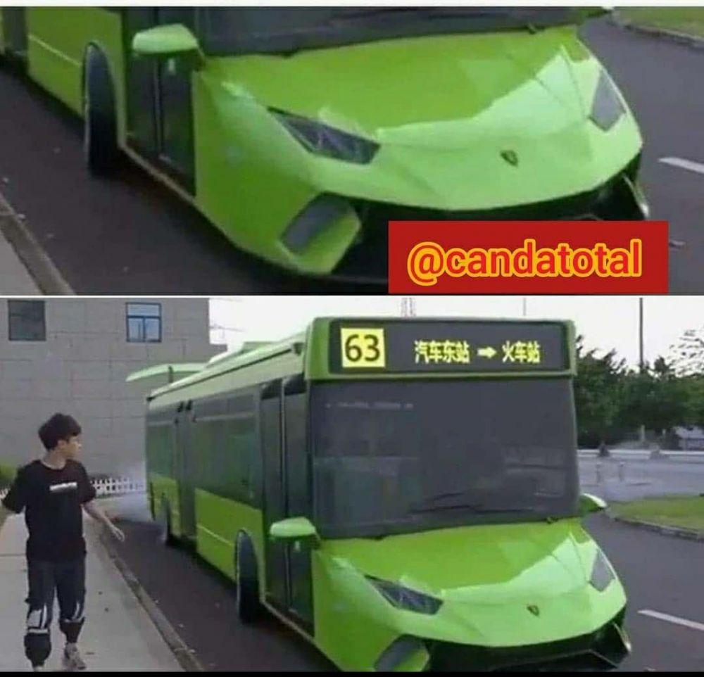 desain bus unik Berbagai sumber
