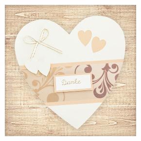 Einladungskarten fr die Hochzeit basteln  buttinette Bastelshop