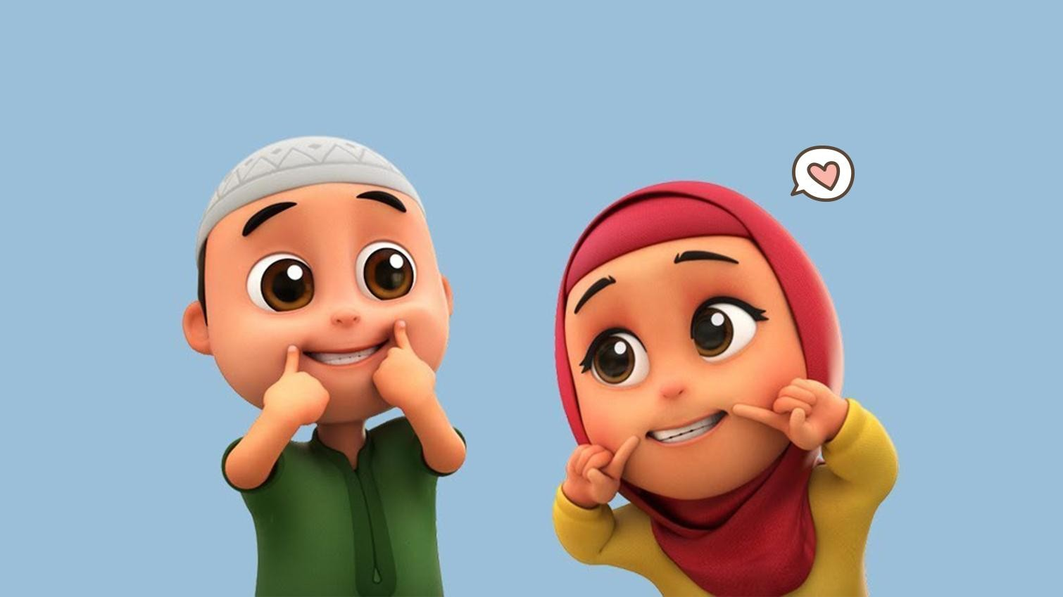 ✓ Terbaik Gambar Animasi Anak Muslim