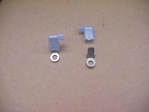 small resolution of coil feed tachometer wire adapters to use hei feed wires from vehicle to round coils