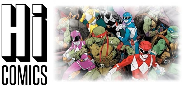 POWER RANGERS x TEENAGE MUTANT NINJA TURTLES - Power Rangers Reunification!