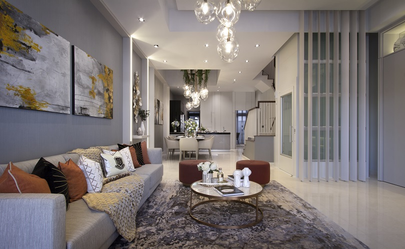 Luxus Hills Signature Collection - Living Room (Actual Photo)