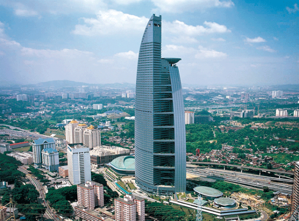 Malaysia's tallest building, Telekom Tower