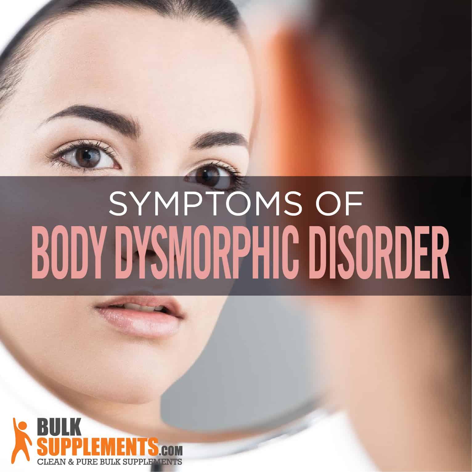 Acne Dysmorphia Symptoms