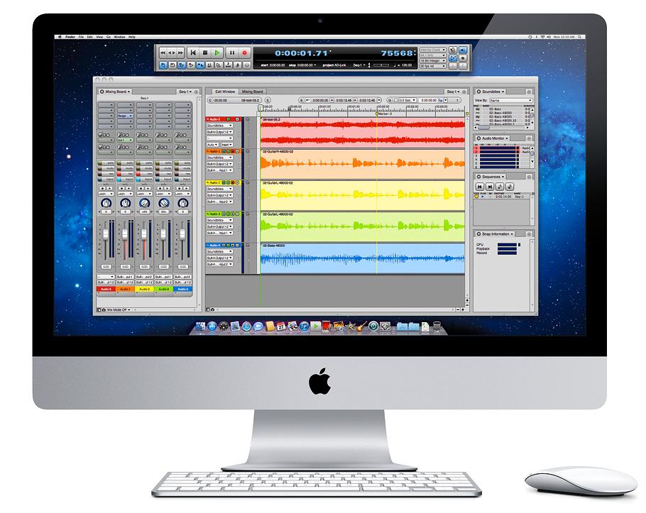 MOTUcom  AudioDesk