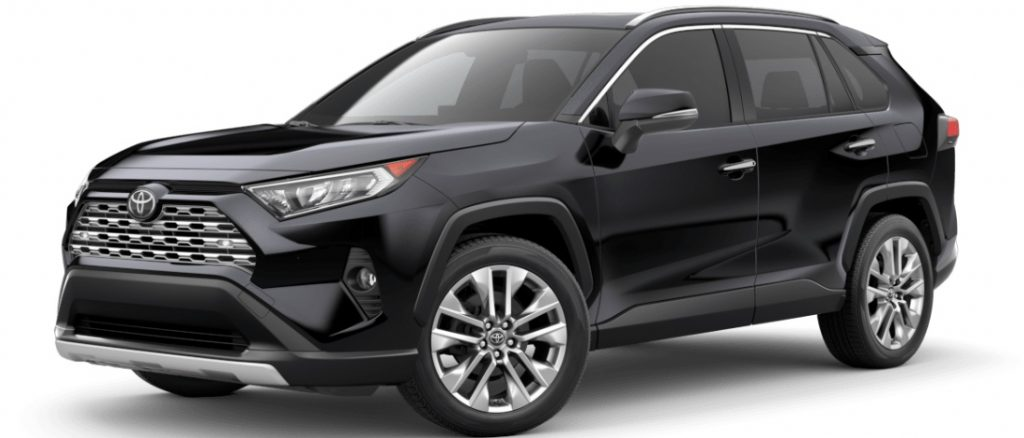 Examples of Every 2020 Toyota RAV4 Color Option