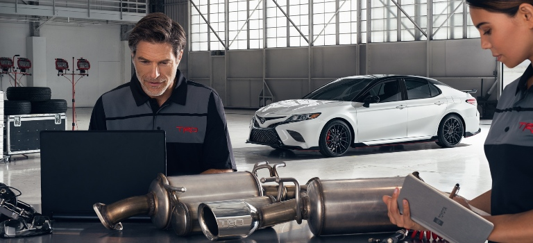 what is the 2020 toyota camry trd