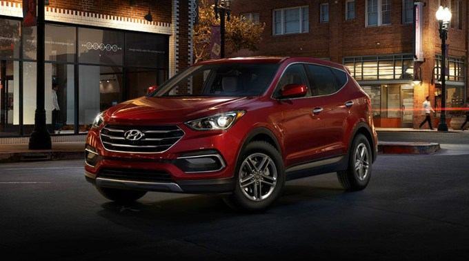 Photo Gallery for Exterior Color Options of new Santa Fe Sport - Apple  Valley Hyundai