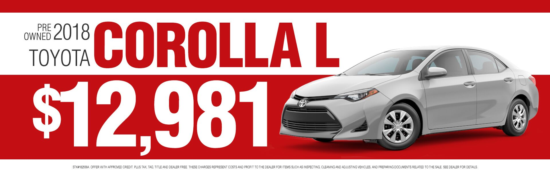hight resolution of pre owned corolla