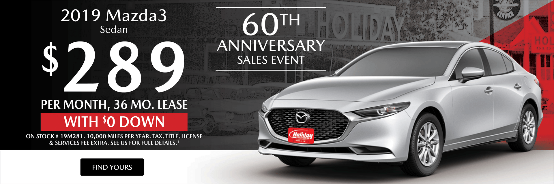 hight resolution of lease a mazda3 at holiday mazda in fond du lac wi