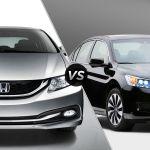 2014 Honda Civic Vs 2014 Honda Accord