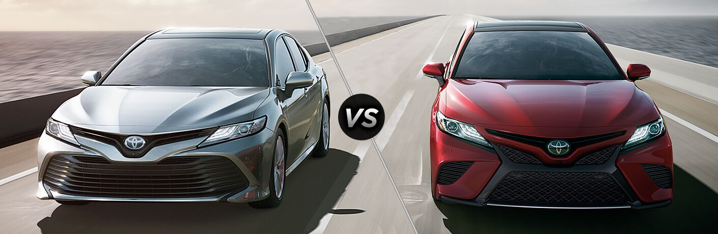 all new camry white sport 2018 toyota le vs se