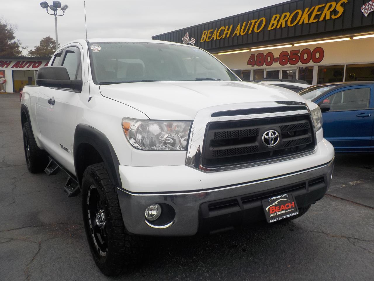 hight resolution of 2010 toyota tundra sr5 double cab 4x4 warranty heated mirrors tow pkg bed liner sat radio running boards aux norfolk va 27250002
