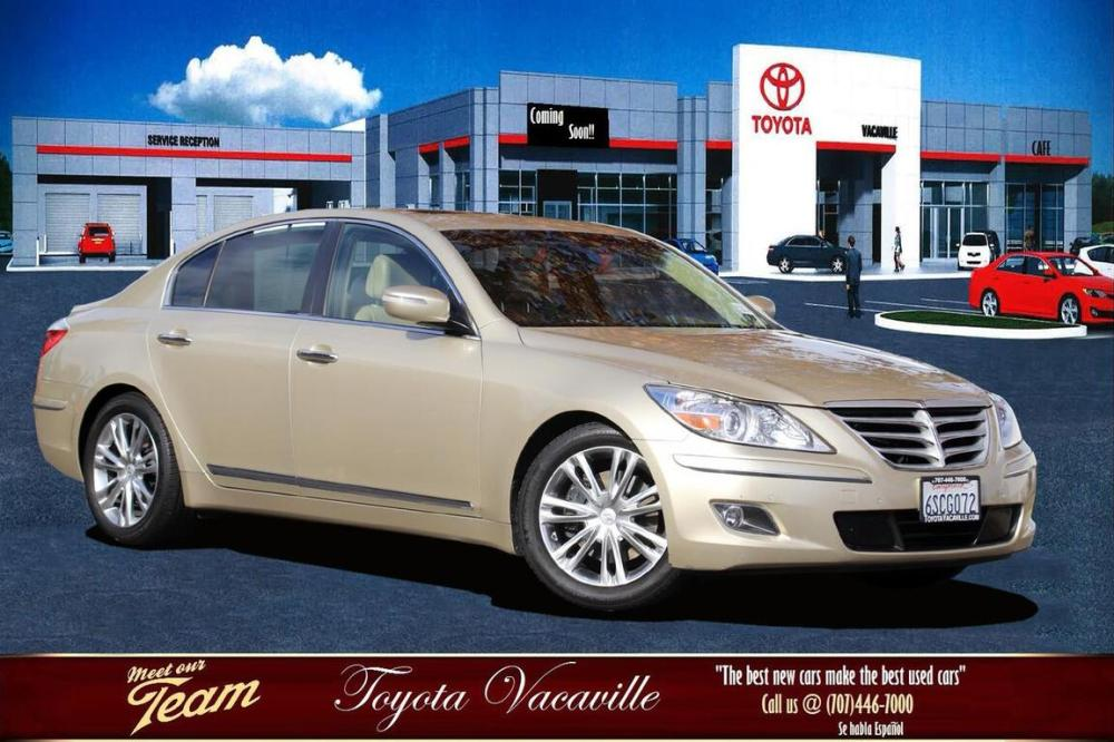 medium resolution of 2011 hyundai genesis 4 6 sedan vacaville ca