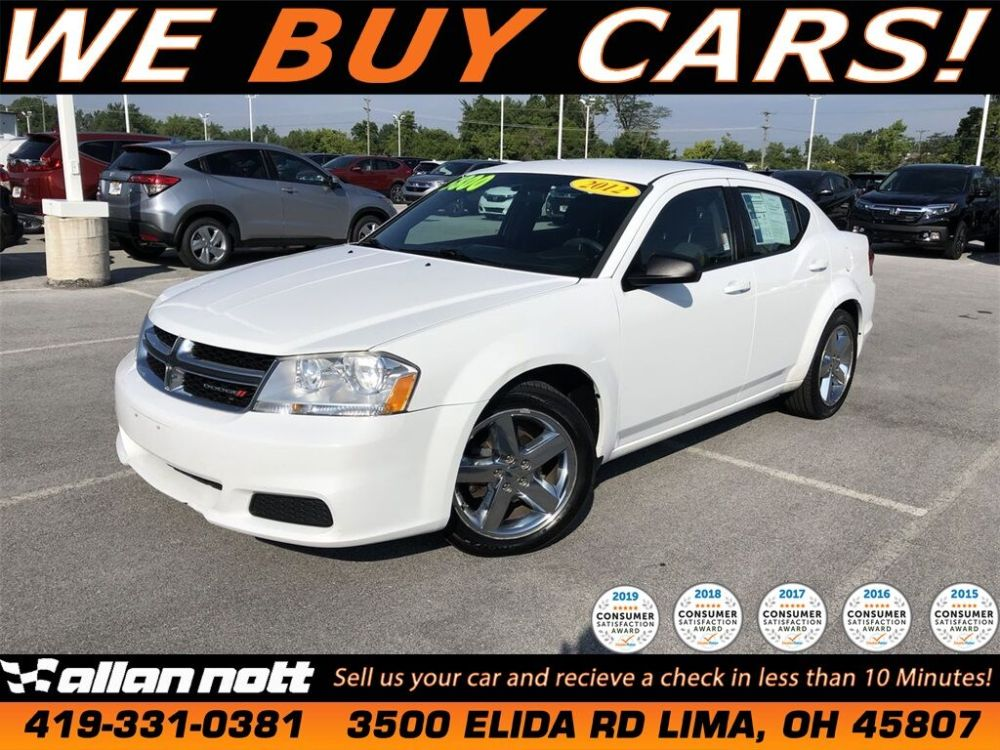 medium resolution of 2012 dodge avenger se