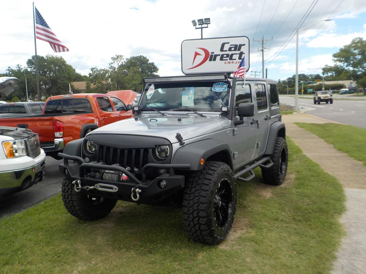 hight resolution of 2014 jeep wrangler unlimited sport 4x4 warranty fuel rims hard top cd