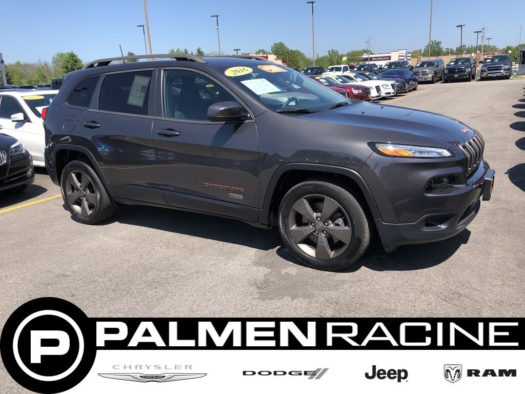 Used 2016 Jeep Cherokee 75th Anniversary Edition In Racine Wi