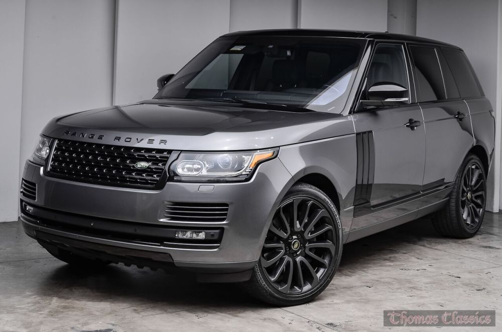 medium resolution of 2016 land rover range rover supercharged black design pack 1 of 400