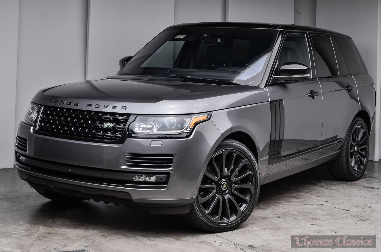 hight resolution of 2016 land rover range rover supercharged black design pack 1 of 400