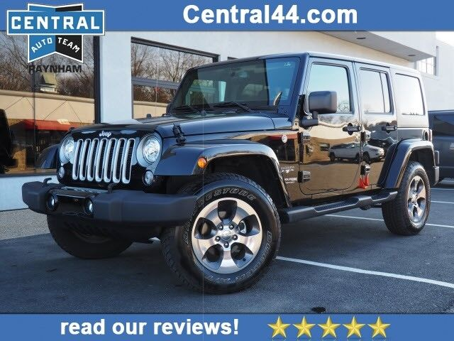 2018 Jeep Wrangler Unlimited Sahara For Sale Near New Bedford Ma