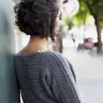 Coiffure Cheveux Frises Courts Cheveux Frises Nos Plus Jolies Idees Pour Les Coiffer Elle